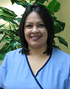 Dental assistant Alicia